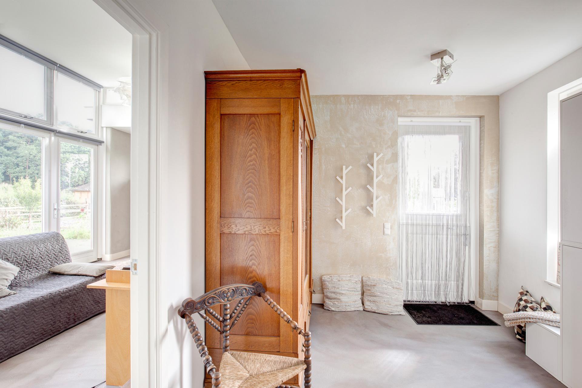 Project Joppe beton cire vloer en leemstuc wanden 7